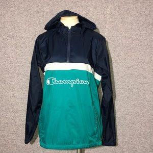 CHAMPION windbreaker hoodie